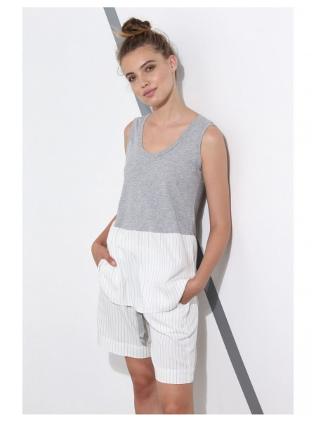 Майка жен. Pinstriped Tank Top