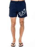 Шорты мужские Sea World Big Logo Boxer EA7 Emporio Armani