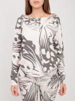 Джемпер женский DEVORE BUTTERFLY SWEATER JUVIA
