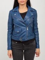 Куртка женская BIKER JACKET LEATHER TRUSSARDI