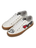 Обувь жен Sneakers MOSCHINO LOVE